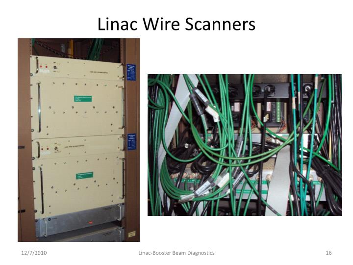 Linac Wire Scanners