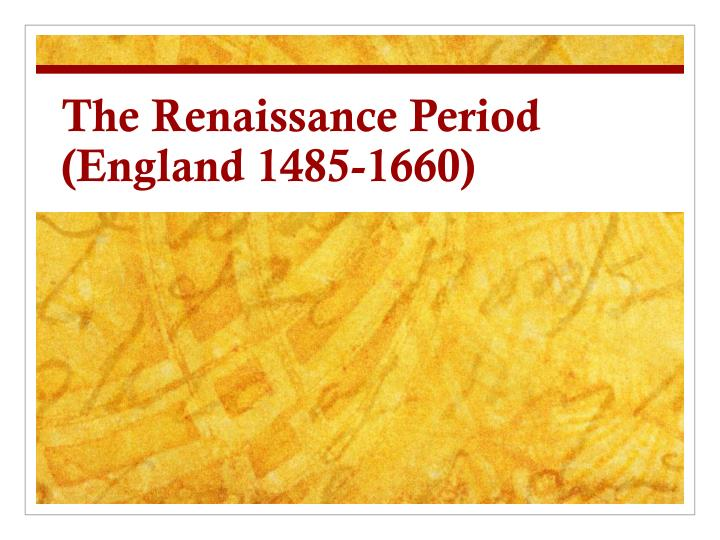 an analysis of the renaissance period impact on each nation - the impact of the renaissance: discovery of man throughout history, the time period in which the renaissance took place has forever been known as the time that changed mankind's way of thinking and discovery it was a time where politics, intellect, art, economics, and religion all changed in a way.