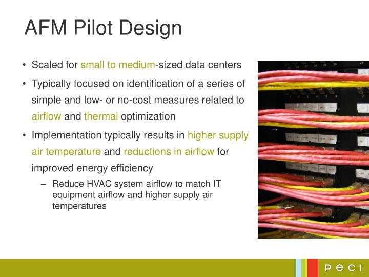 Afm pilot design