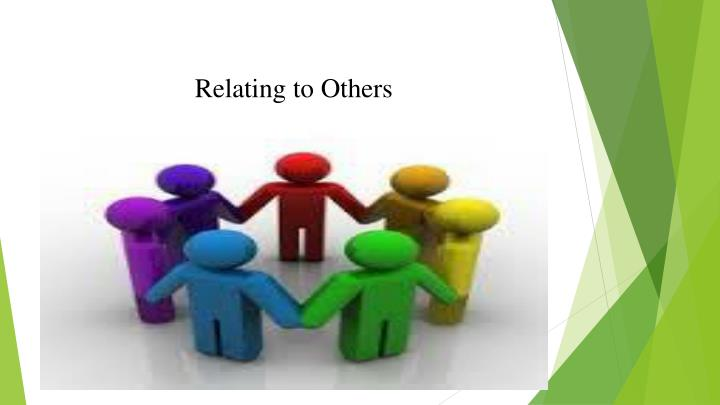 relating to others n.