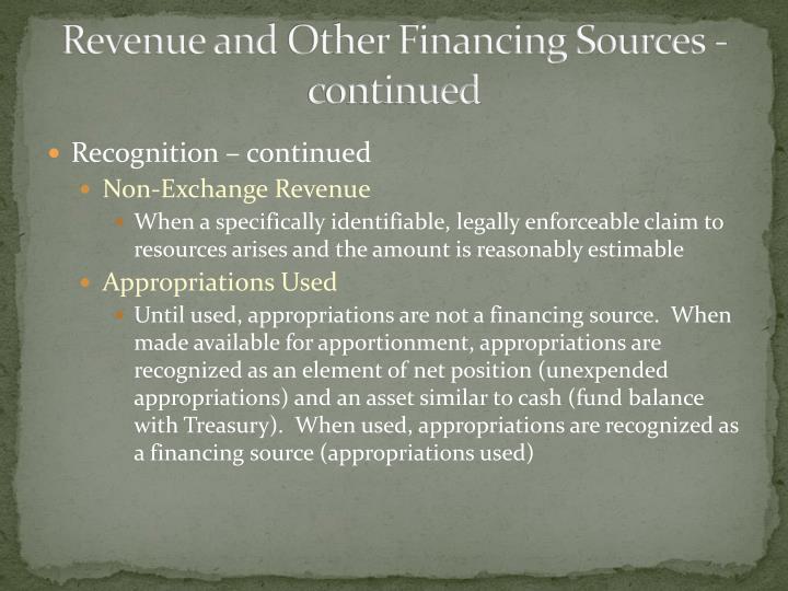 Revenue and