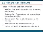 5 2 risk and risk premiums4