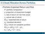 5 5 asset allocation across portfolios2