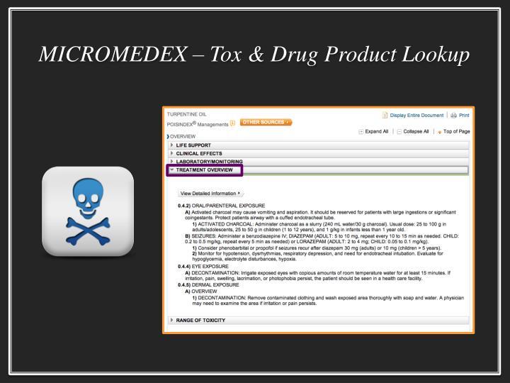 MICROMEDEX –
