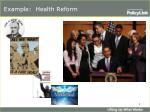 example health reform