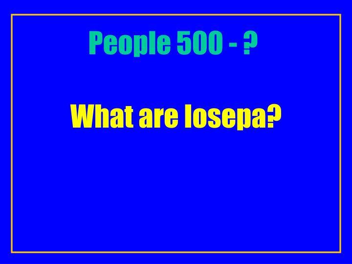 People 500 - ?