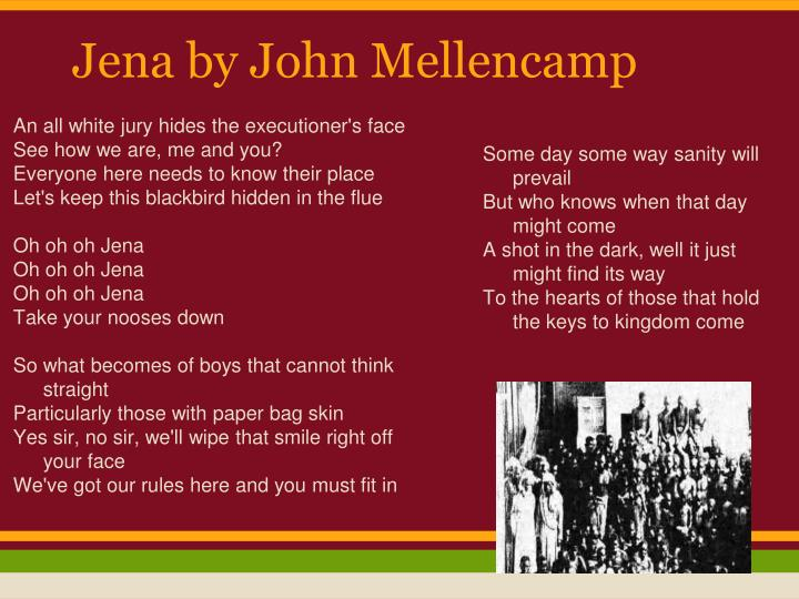 Jena by John Mellencamp