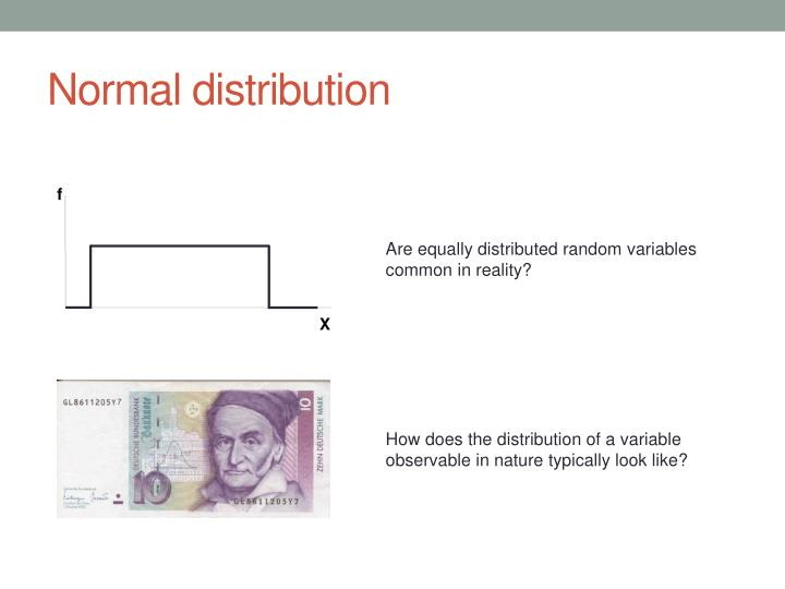 Normal distribution1