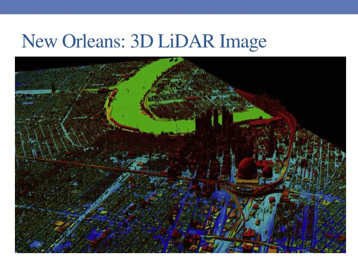 New Orleans: 3D