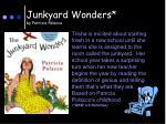 junkyard wonders by patricia polacco