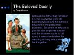 the beloved dearly by doug cooney