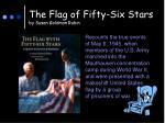 the flag of fifty six stars by susan goldman rubin