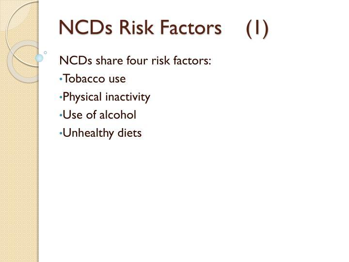 NCDs Risk Factors    (1)