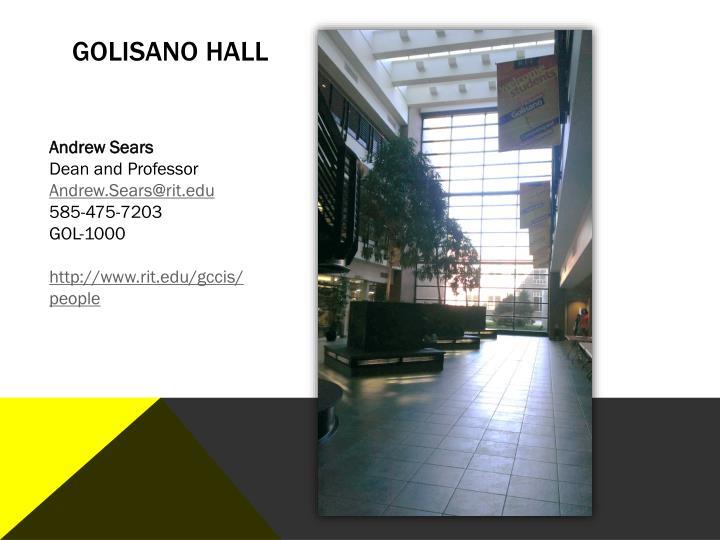 Golisano Hall