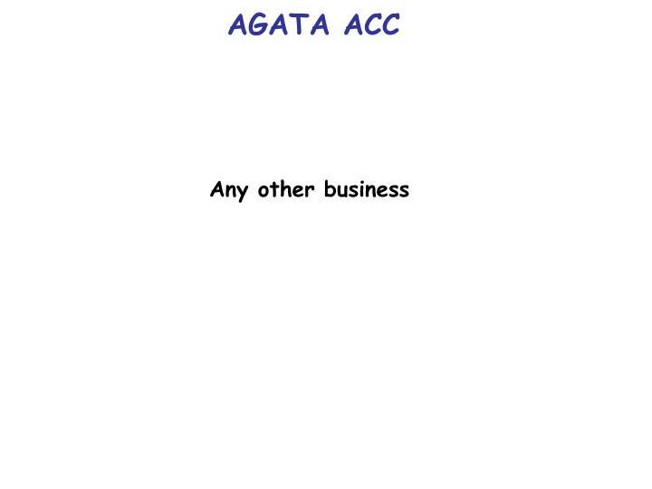 AGATA ACC