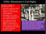 1950s milestones in civil rights1