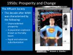 1950s prosperity and change
