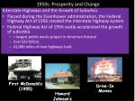 1950s prosperity and change1