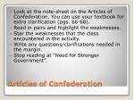 articles of confederation1