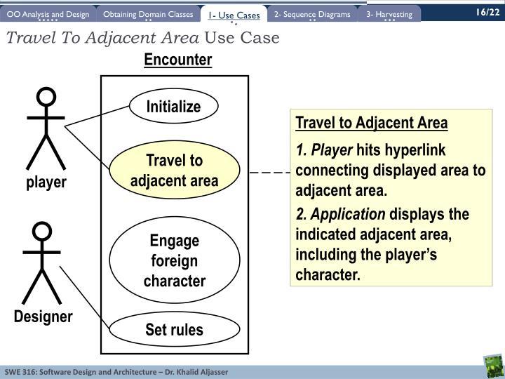 Travel To Adjacent Area