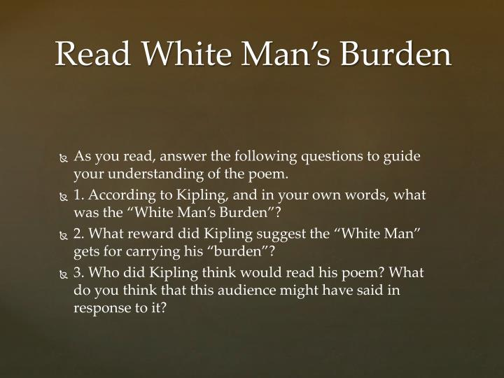As you read, answer the following questions to guide your understanding of the