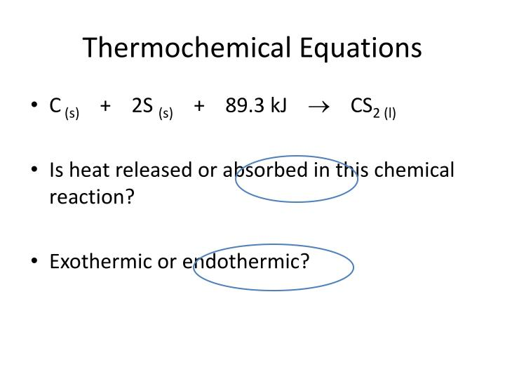 Thermochemical