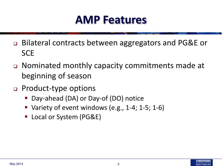 Amp features