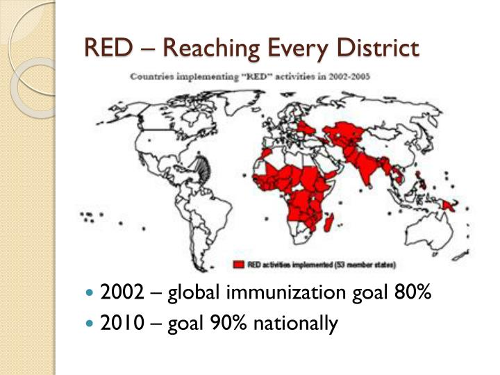 RED – Reaching Every District