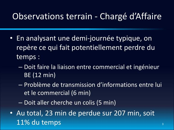 Observations terrain charg d affaire1