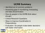 ucrb summary