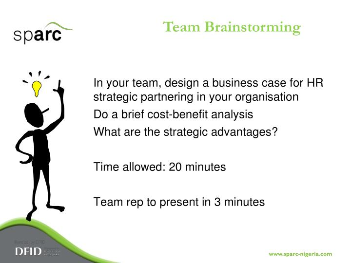 Team Brainstorming