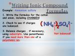 writing ionic compound formulas1
