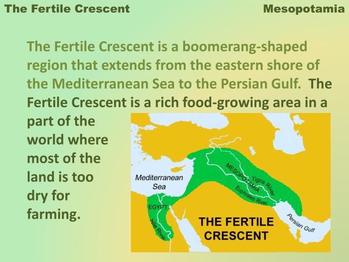 ppt the fertile crescent mesopotamia powerpoint presentation id