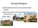 temples religion