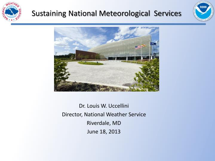 s ustaining national meteorological services n.