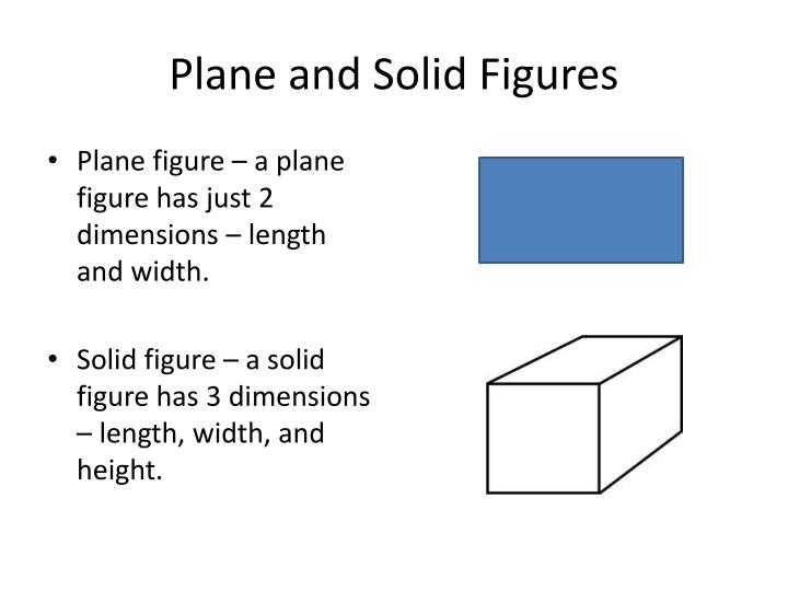 Plane and solid figures