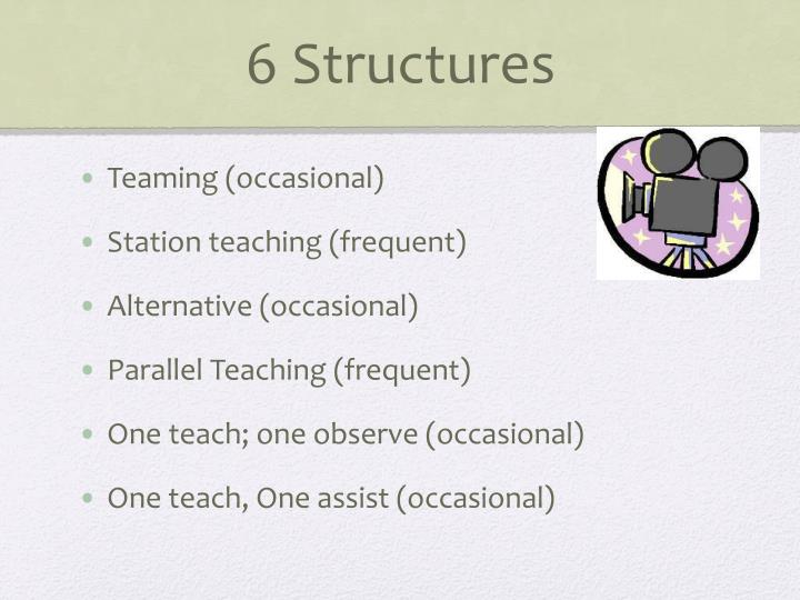 6 Structures
