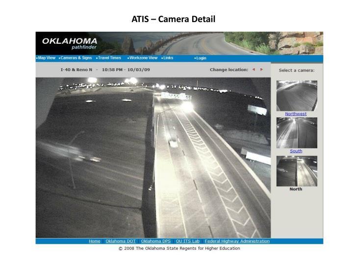 ATIS – Camera Detail