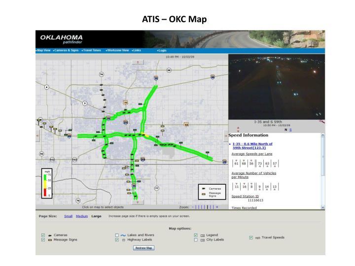 ATIS – OKC Map