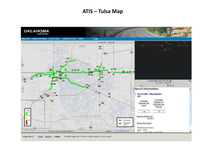 ATIS – Tulsa Map