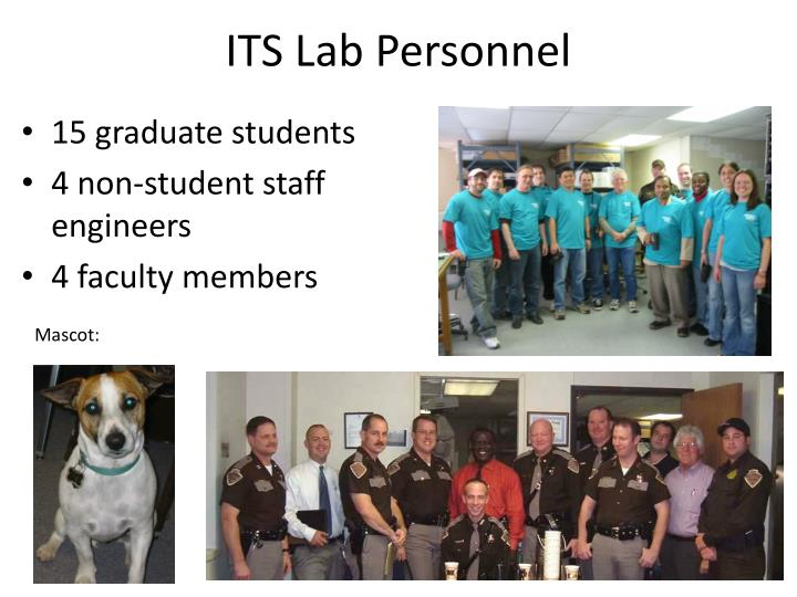 ITS Lab Personnel