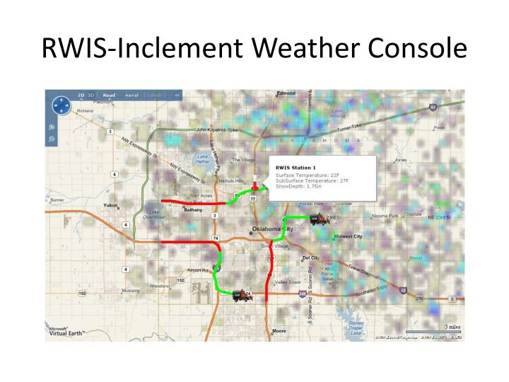 RWIS-Inclement Weather Console