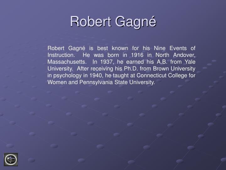 Robert Gagn