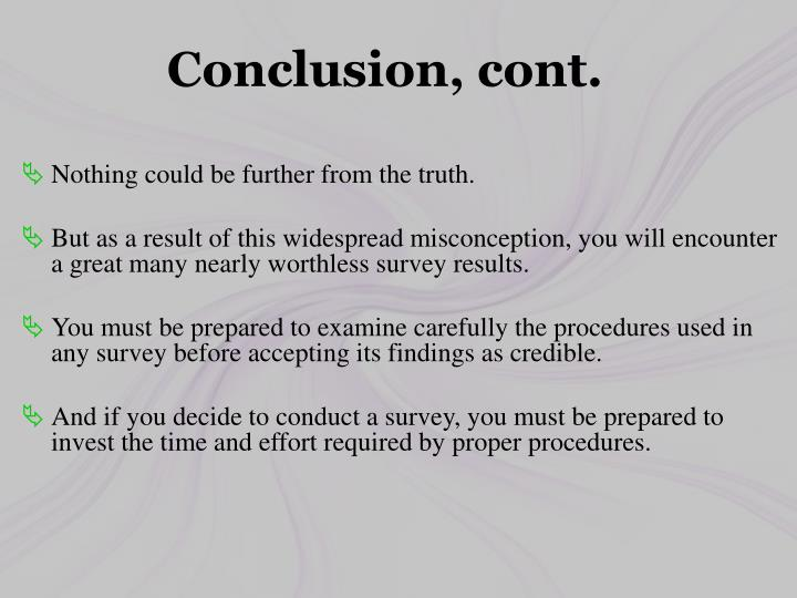 Conclusion,