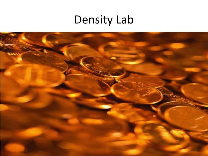 Density lab
