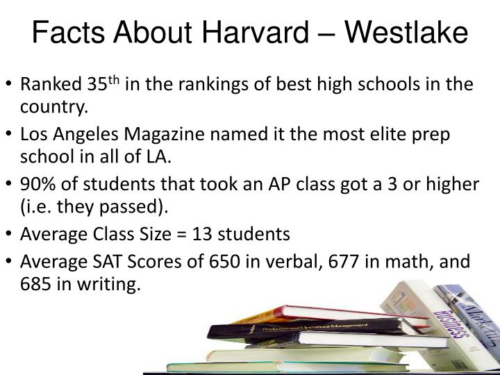 Facts About Harvard – Westlake