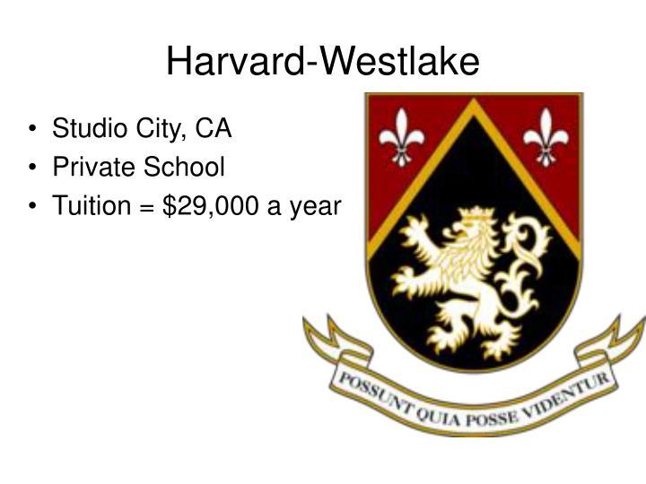 Harvard-Westlake