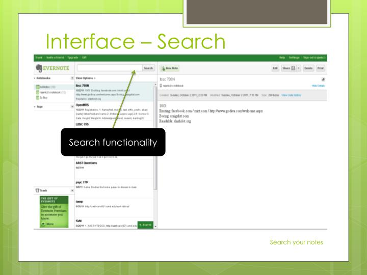 Interface –
