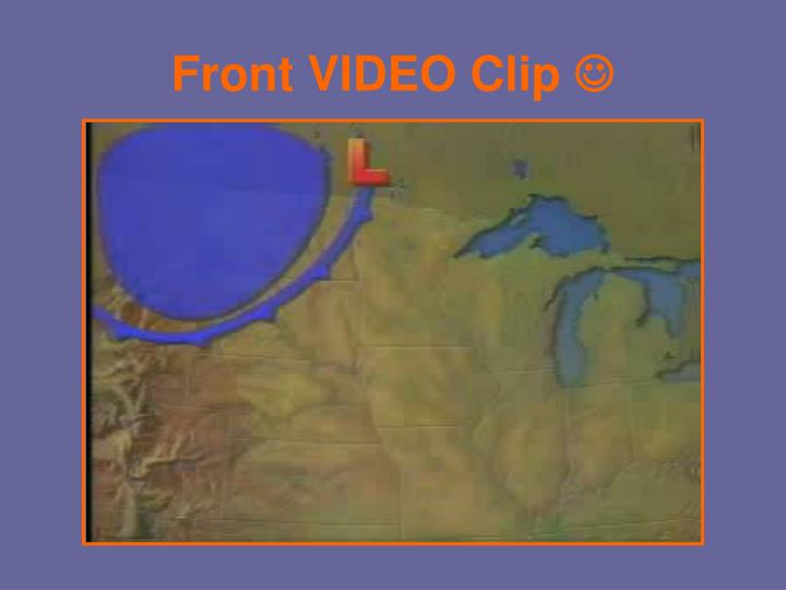 Front VIDEO Clip
