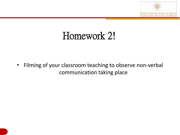 Homework 2!